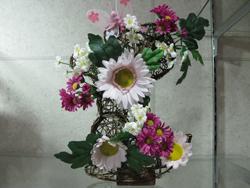 山下洋子のフラワーアレンジメントの写真
